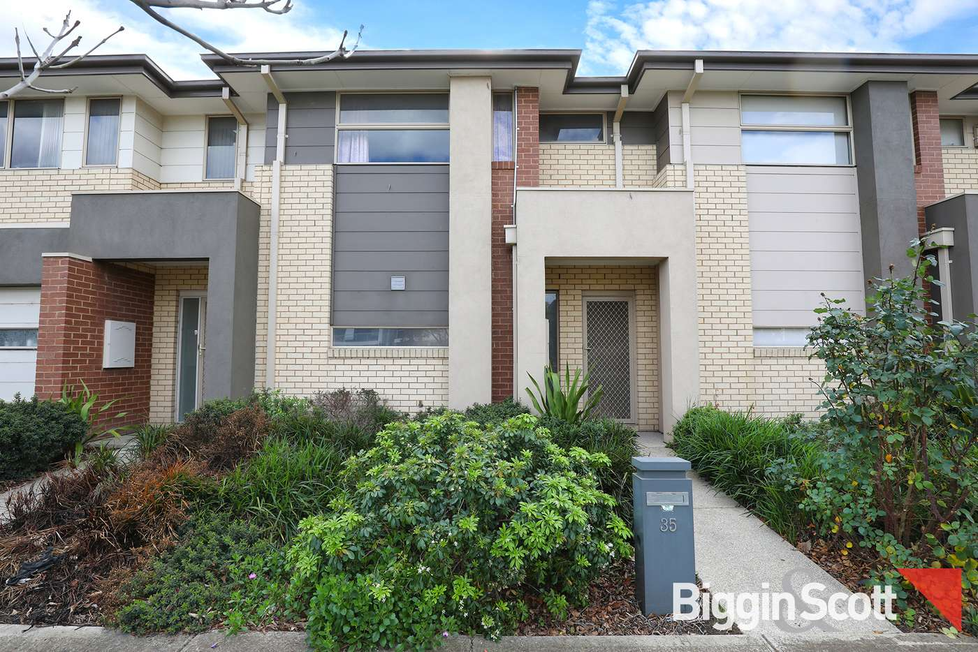 Main view of Homely townhouse listing, 35 Callaway Boulevard, Sunshine West VIC 3020