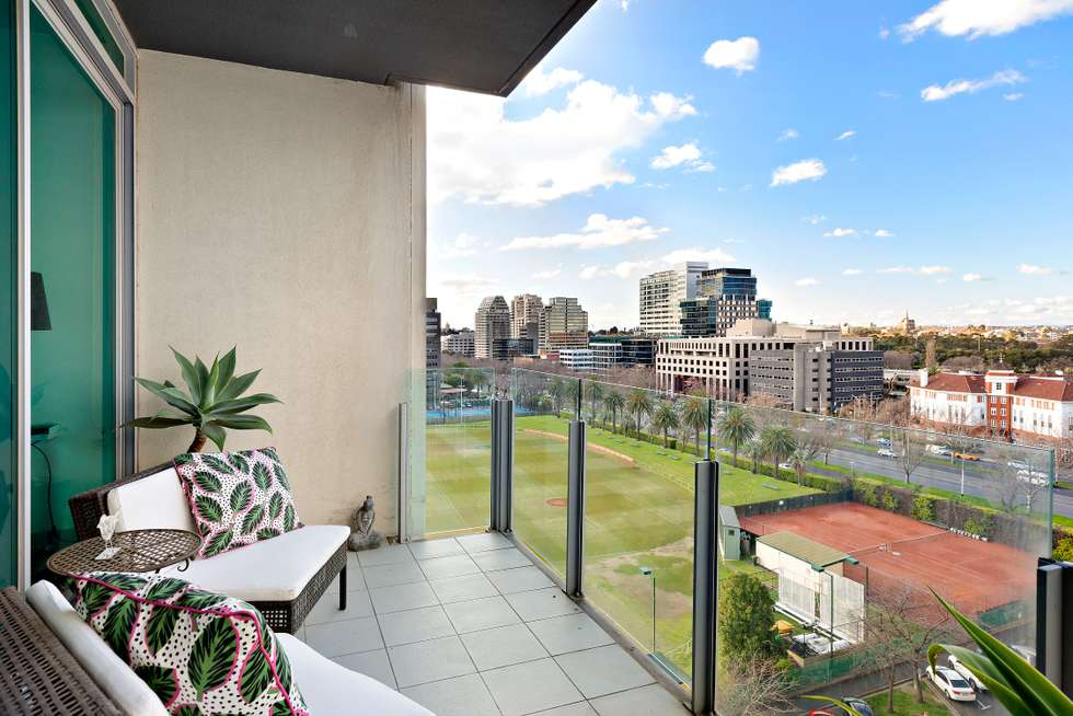 Third view of Homely apartment listing, 905/1 Roy Street, Melbourne VIC 3004