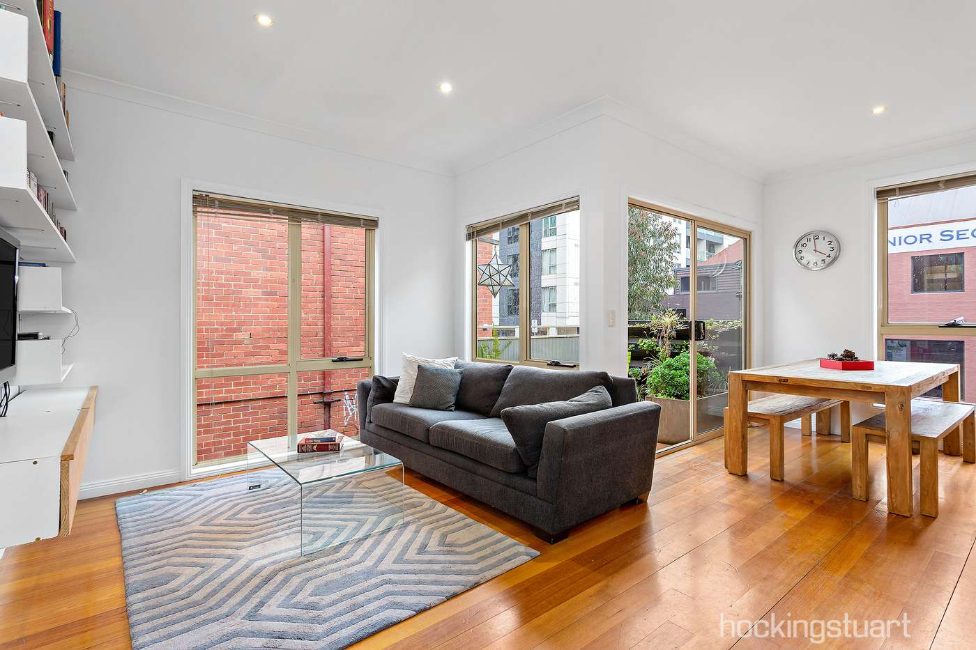 Main view of Homely apartment listing, 3/76 Jeffcott Street, West Melbourne, VIC 3003