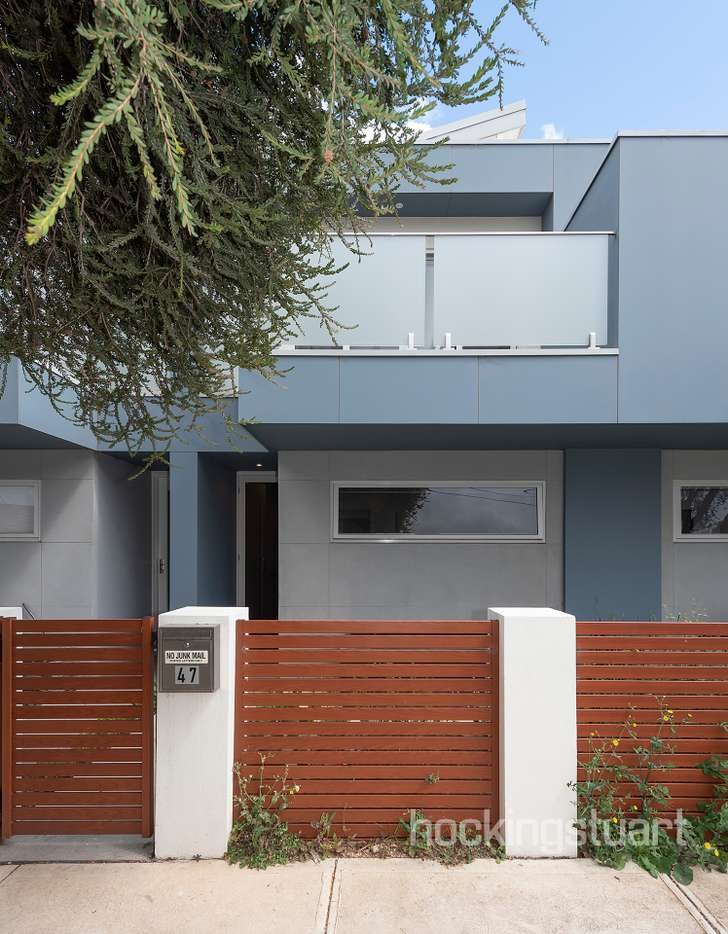 Main view of Homely townhouse listing, 47 Garnet Street, Sunshine North, VIC 3020