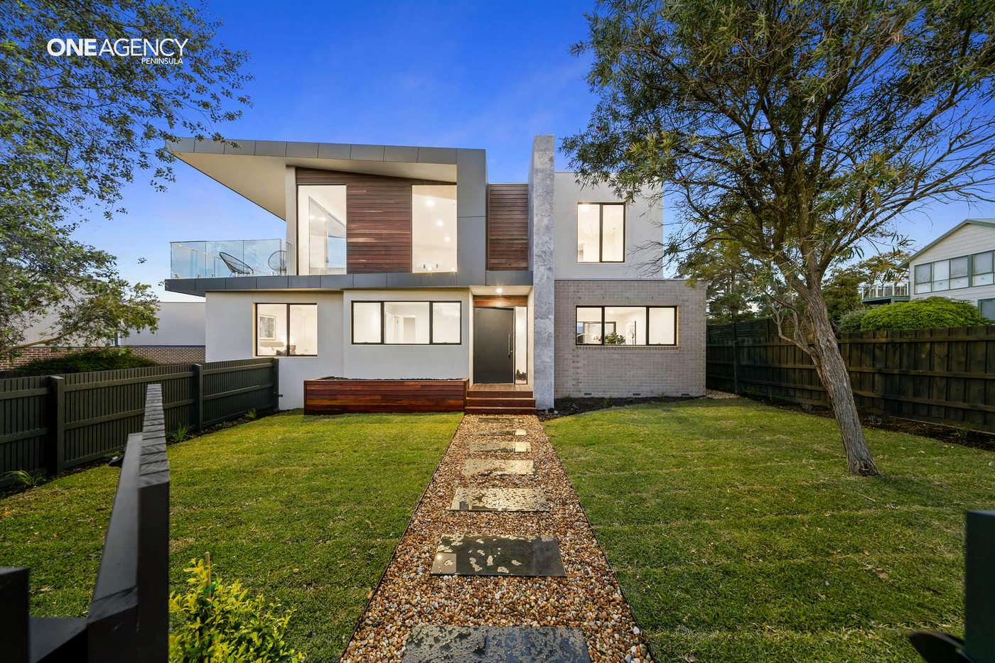 Main view of Homely townhouse listing, 1/27 Codrington Street, Dromana, VIC 3936