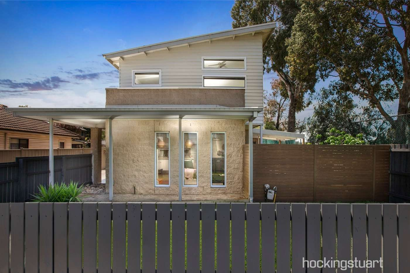 Main view of Homely townhouse listing, 1/66 Primula Avenue, Brooklyn, VIC 3012