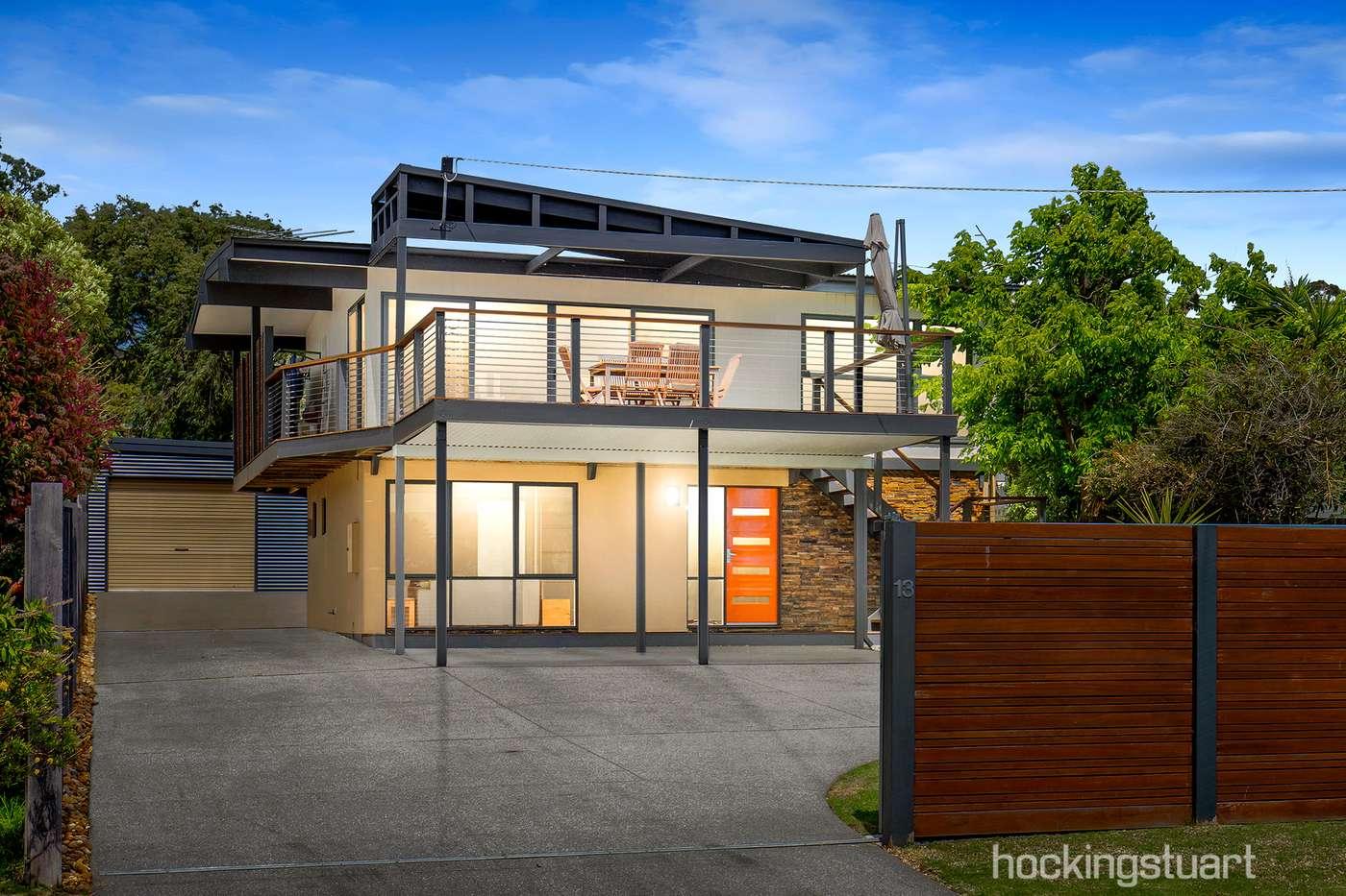 Main view of Homely house listing, 13 Iris Street, Dromana, VIC 3936