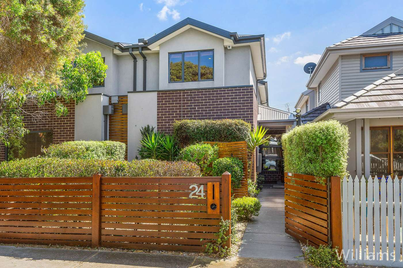Main view of Homely townhouse listing, 24 Junction Street, Newport, VIC 3015