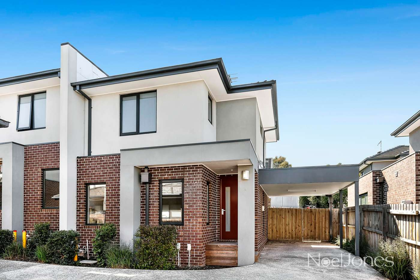 Main view of Homely townhouse listing, 4/52-54 Springfield Road, Box Hill North VIC 3129