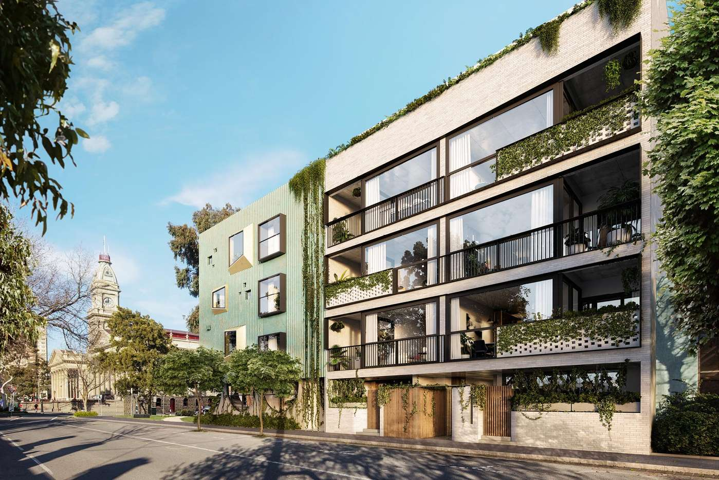 Main view of Homely apartment listing, 202/223 Napier Street, Fitzroy, VIC 3065
