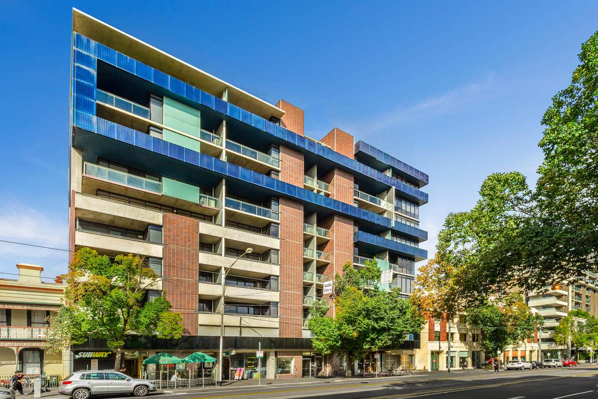 Main view of Homely apartment listing, 702/668 Swanston Street, Carlton, VIC 3053