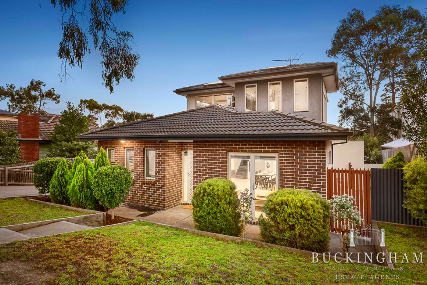 Main view of Homely townhouse listing, 1/6 Graeme Avenue, Montmorency VIC 3094