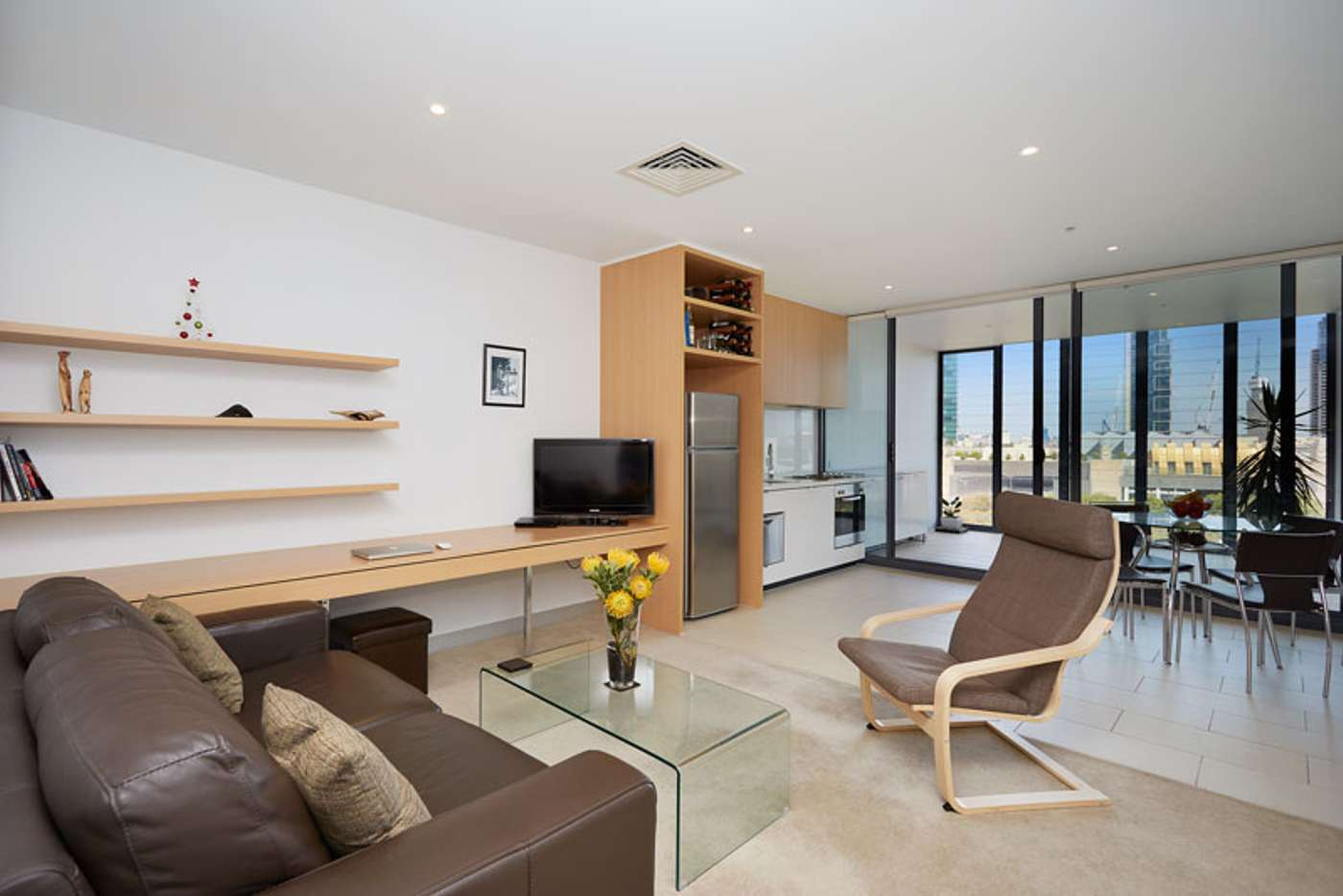 Main view of Homely apartment listing, 819/555 Flinders Street, Melbourne VIC 3000