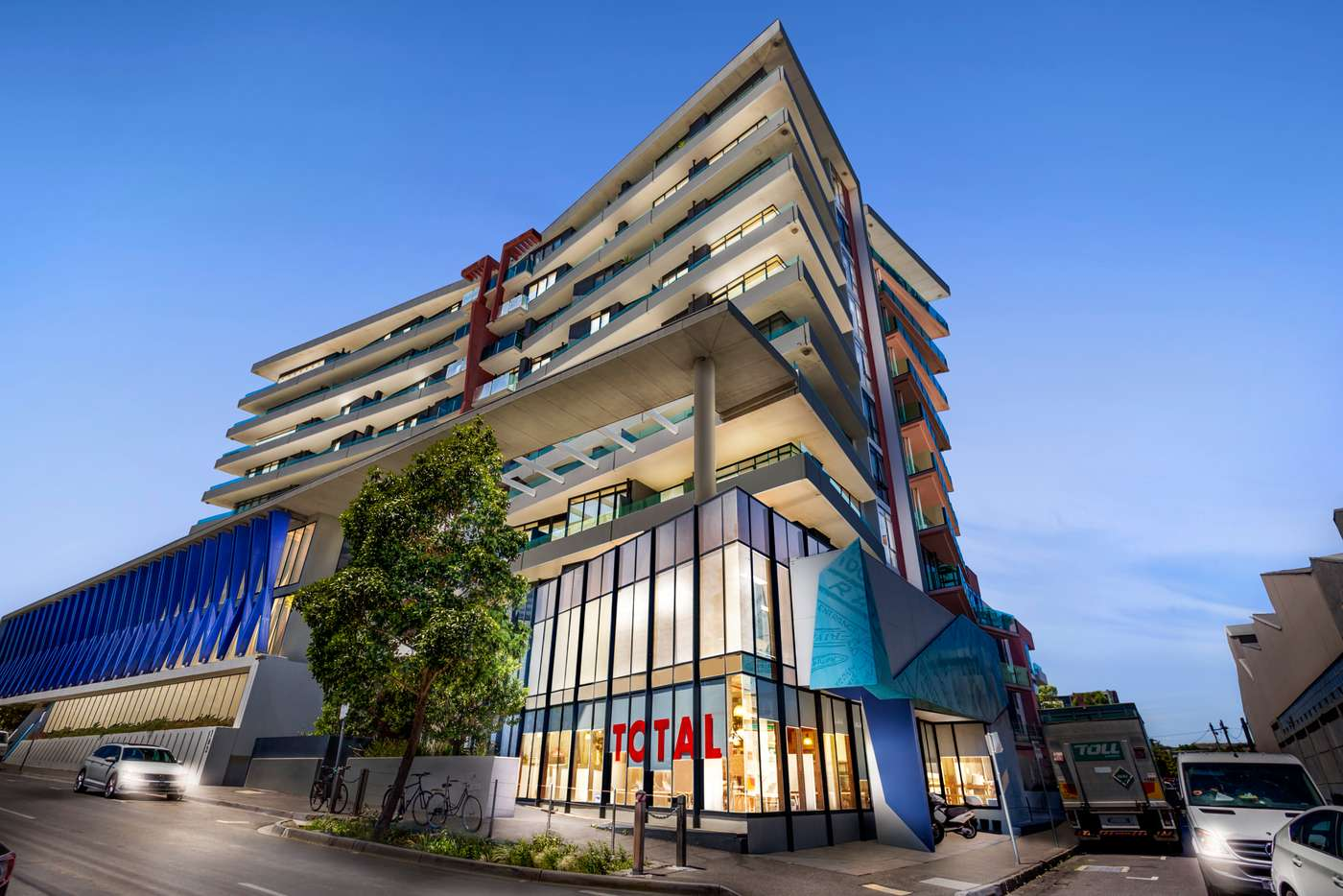 Main view of Homely apartment listing, 402/163 Cremorne Street, Richmond VIC 3121