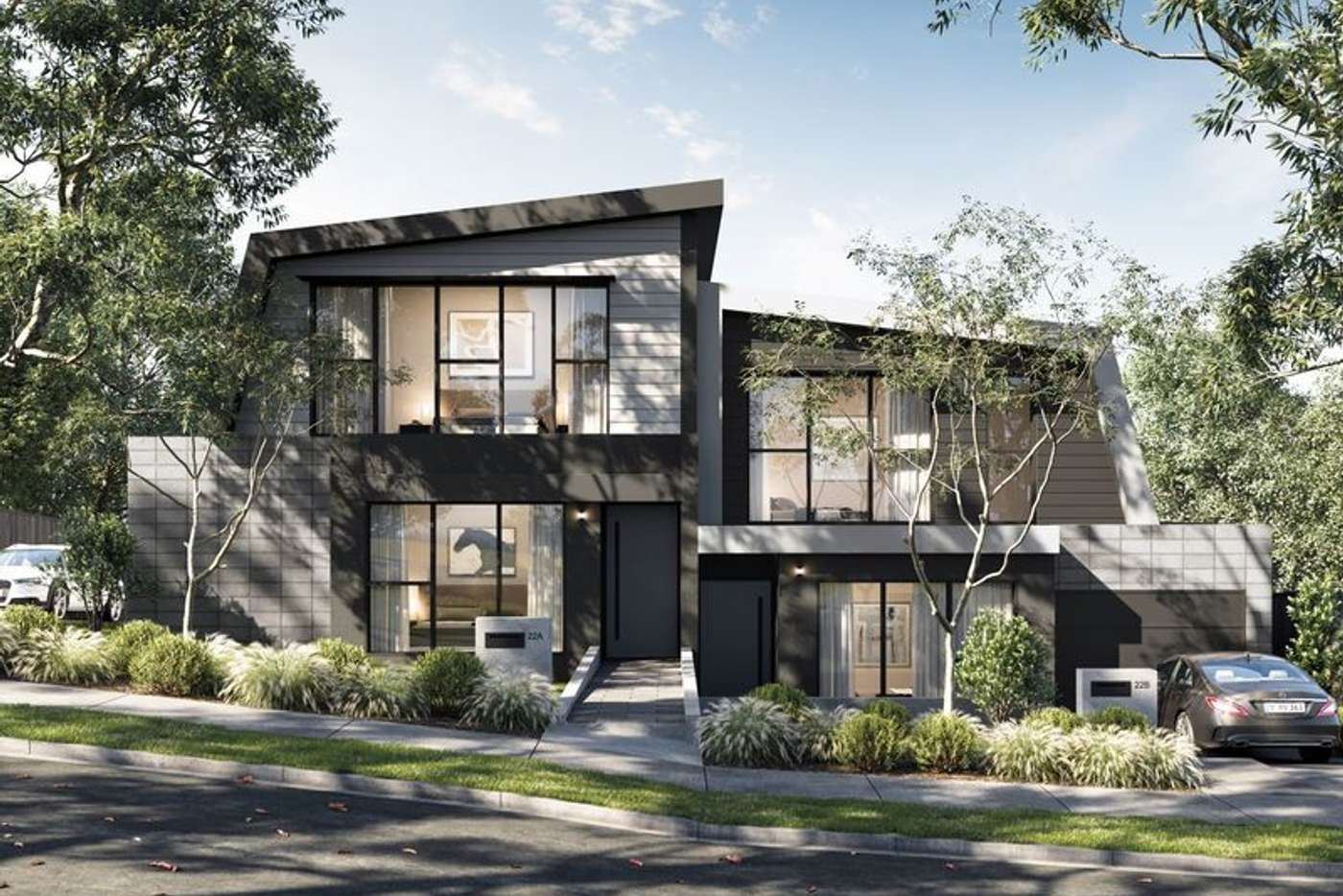 Main view of Homely townhouse listing, 1-3 22 River Street, Briar Hill VIC 3088