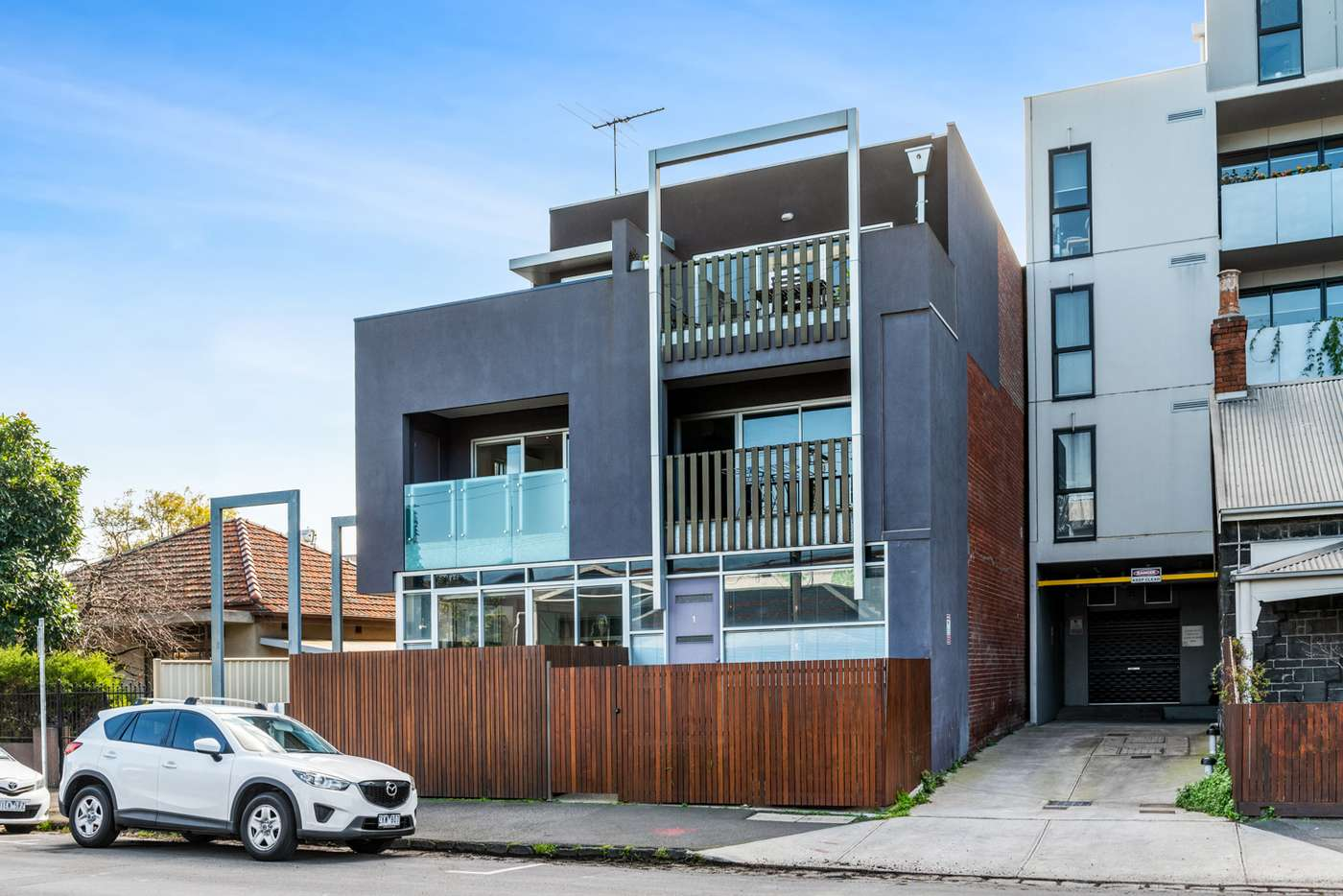 Main view of Homely apartment listing, 2/153 Barkly Street, Brunswick VIC 3056