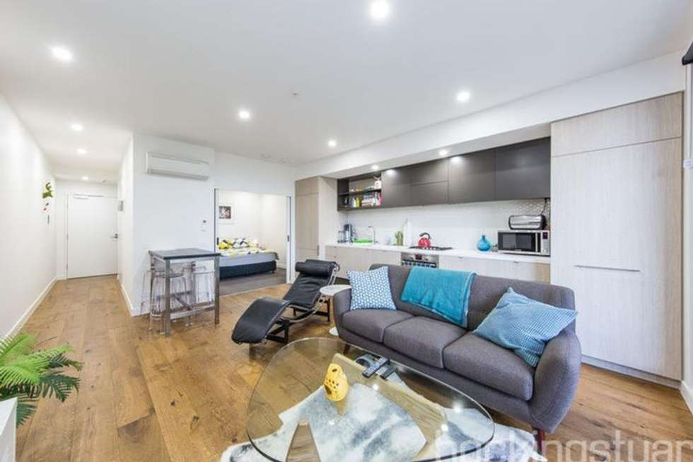 Second view of Homely apartment listing, 108/16 Anderson Street, West Melbourne VIC 3003
