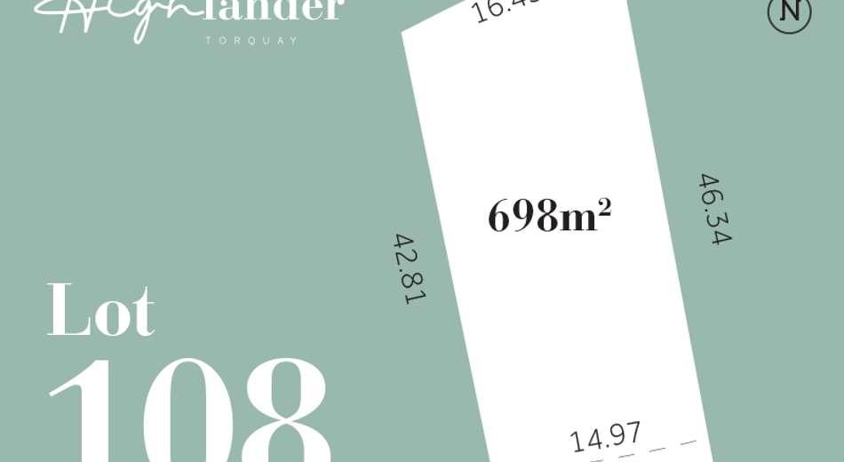 Lot 108 Highlander  Estate, Torquay VIC 3228