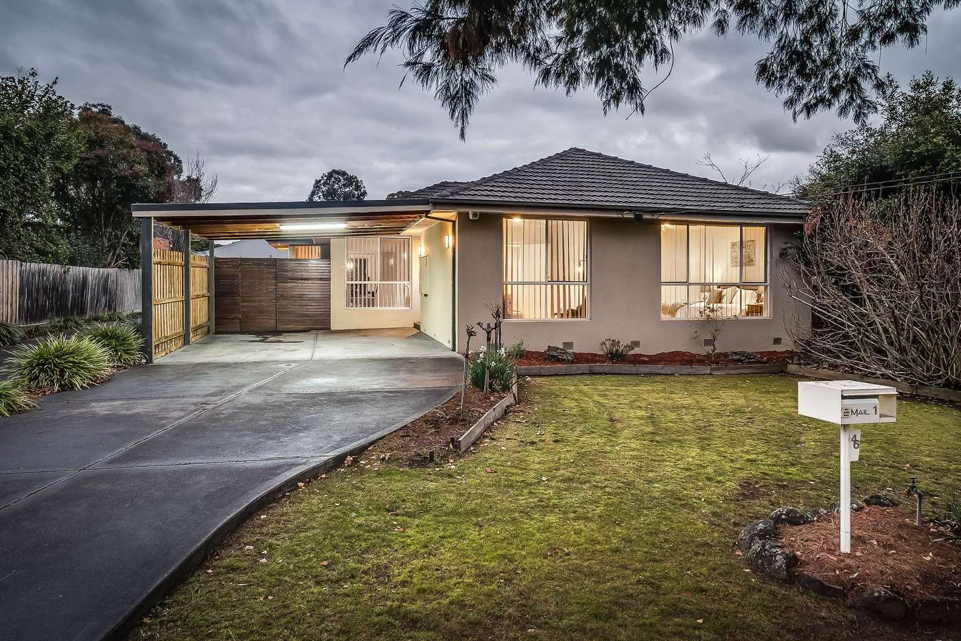 Main view of Homely house listing, 46 Geoffrey Drive, Kilsyth VIC 3137
