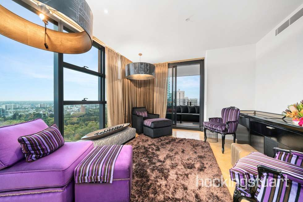 Third view of Homely apartment listing, 3004/27 Little Collins Street, Melbourne VIC 3000