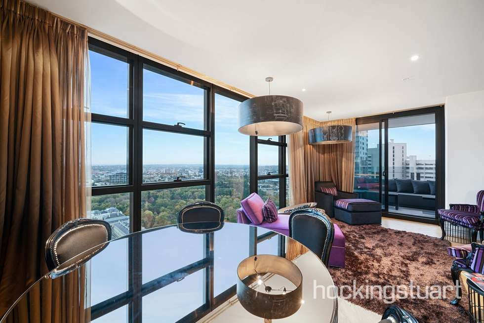 Fourth view of Homely apartment listing, 3004/27 Little Collins Street, Melbourne VIC 3000