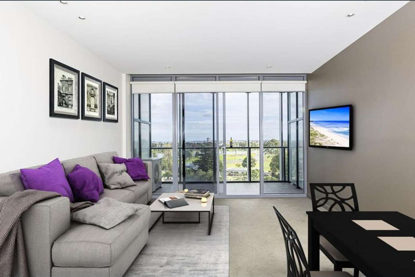 Main view of Homely apartment listing, 511/55 Queens Road, Melbourne VIC 3004