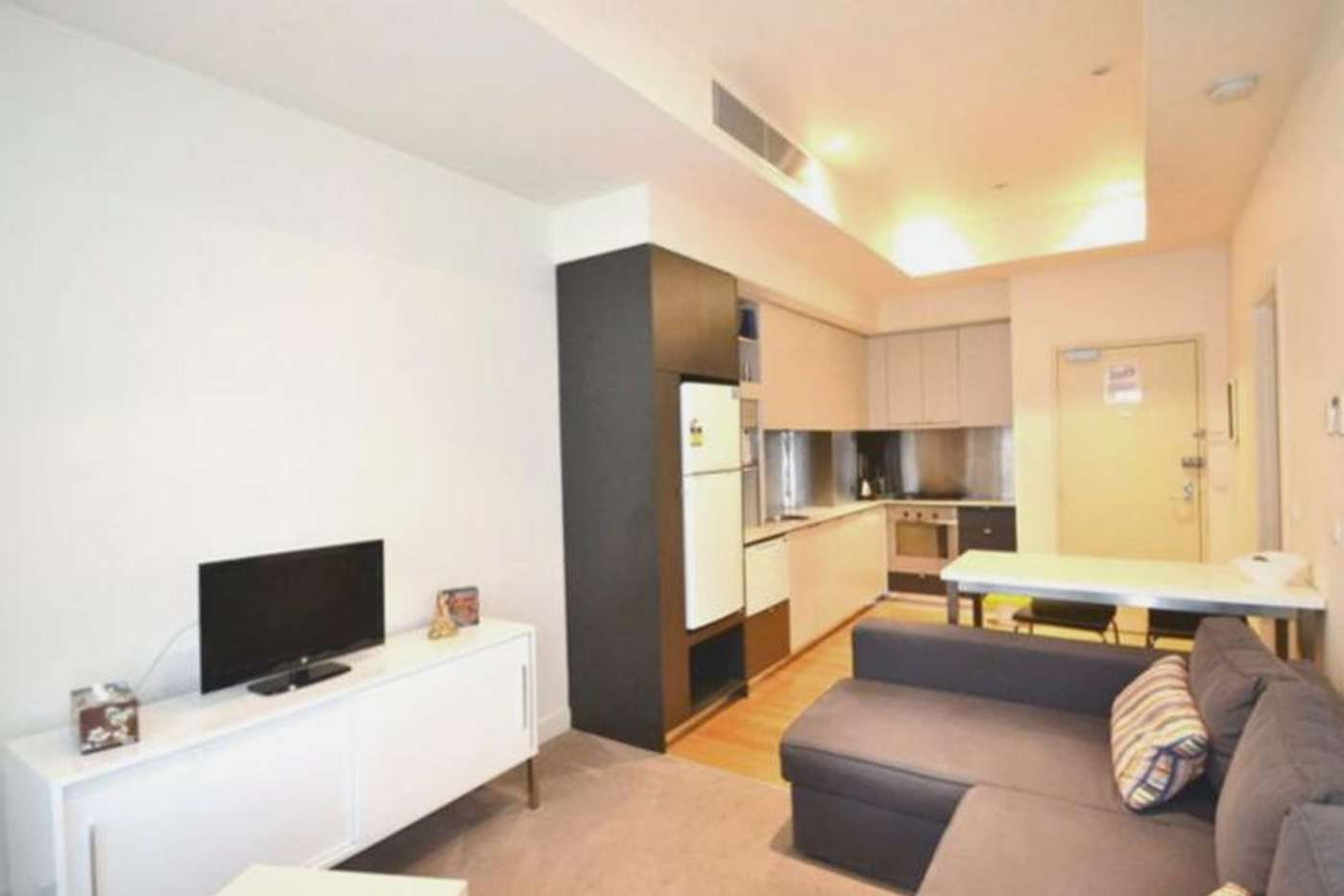 Main view of Homely apartment listing, 504/233 Collins Street, Melbourne VIC 3000