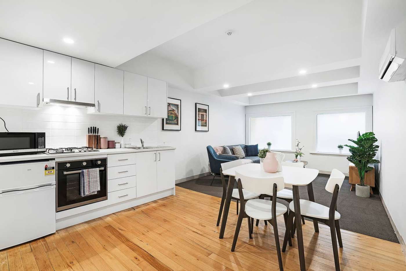 Main view of Homely apartment listing, 107/296 Flinders Street, Melbourne VIC 3000