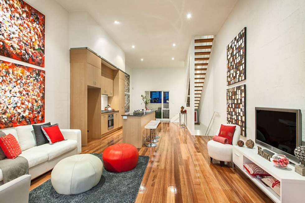 Third view of Homely townhouse listing, 25 York Street, Richmond VIC 3121