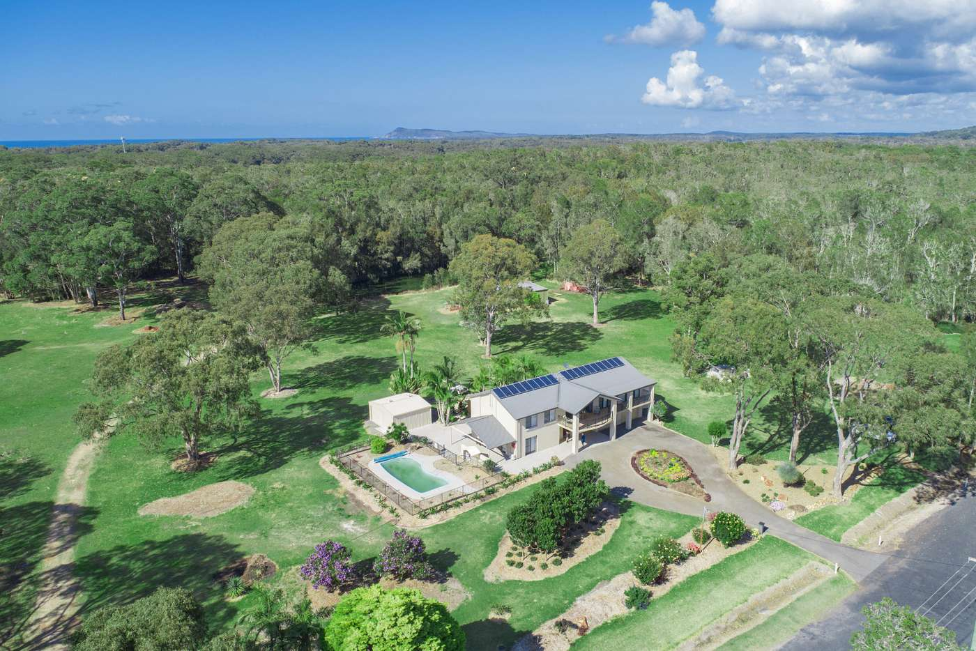 Main view of Homely acreageSemiRural listing, 60 Longworth Road, Dunbogan NSW 2443