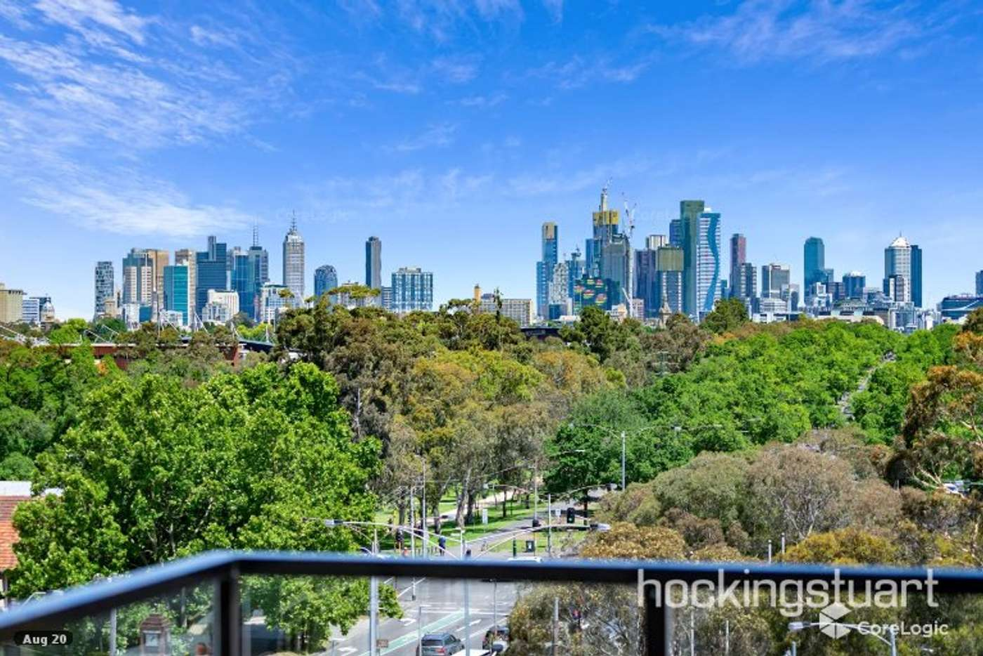 Sixth view of Homely apartment listing, 402/6 Black Street, Brunswick VIC 3056
