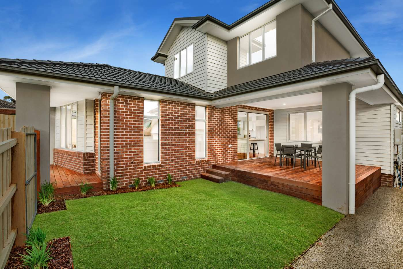 Main view of Homely townhouse listing, 1/3 Kennedy Avenue, Ringwood VIC 3134
