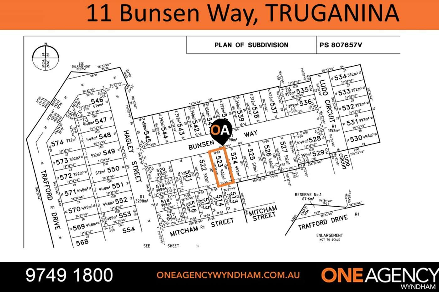 Main view of Homely residentialLand listing, 11 Bunsen Way, Truganina VIC 3029