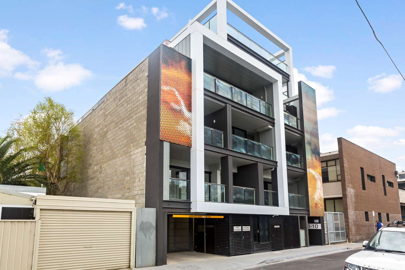 Sixth view of Homely apartment listing, 403/8 New Street, Richmond VIC 3121
