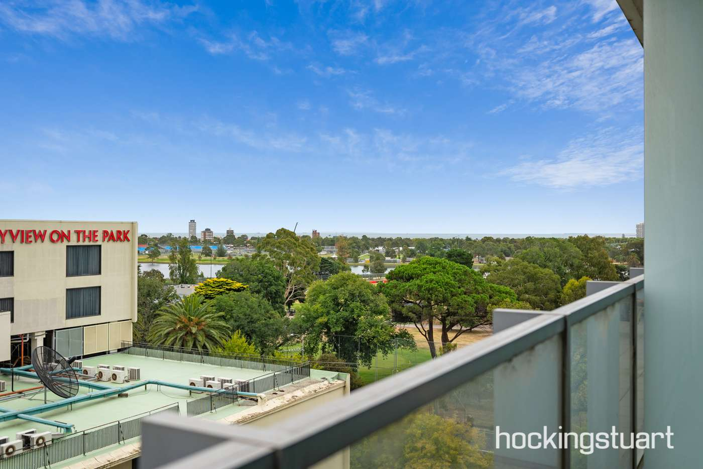 Main view of Homely apartment listing, 609/1 Roy Street, Melbourne VIC 3000