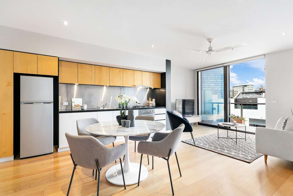 Second view of Homely apartment listing, 705/16 Liverpool Street, Melbourne VIC 3000