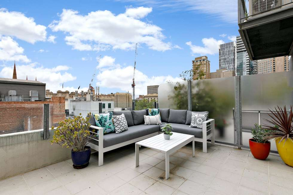 Third view of Homely apartment listing, 705/16 Liverpool Street, Melbourne VIC 3000