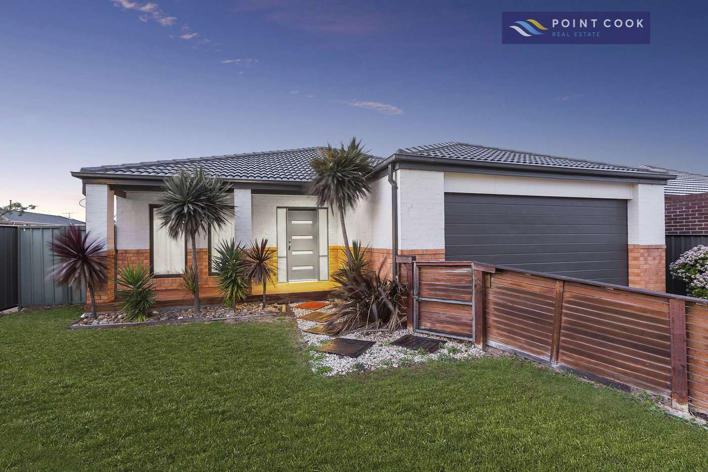 Main view of Homely house listing, 24 Caldicott Crescent, Point Cook VIC 3030