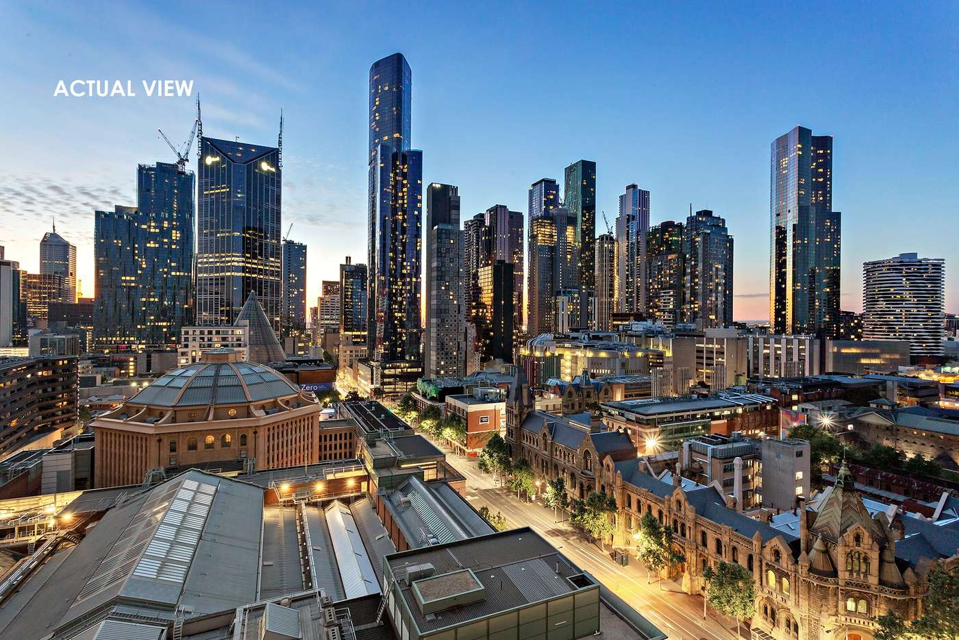 Main view of Homely apartment listing, 1401/318 Russell Street, Melbourne VIC 3000