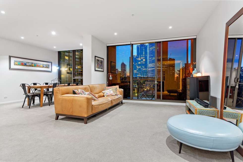 Second view of Homely apartment listing, 1401/318 Russell Street, Melbourne VIC 3000