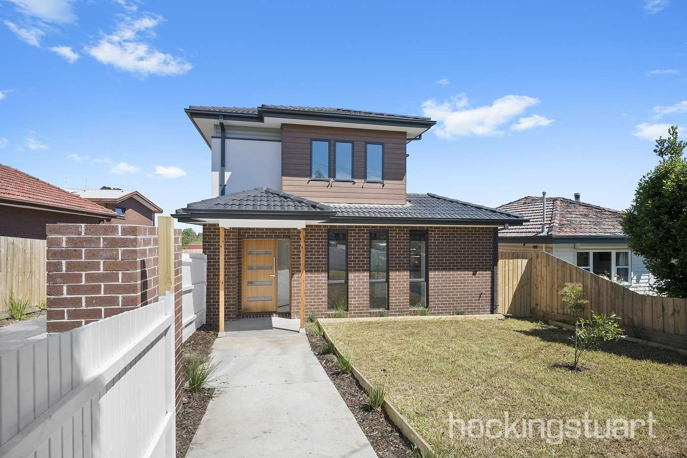 Main view of Homely townhouse listing, 1,2,3/14 Strettle Street, Thornbury VIC 3071