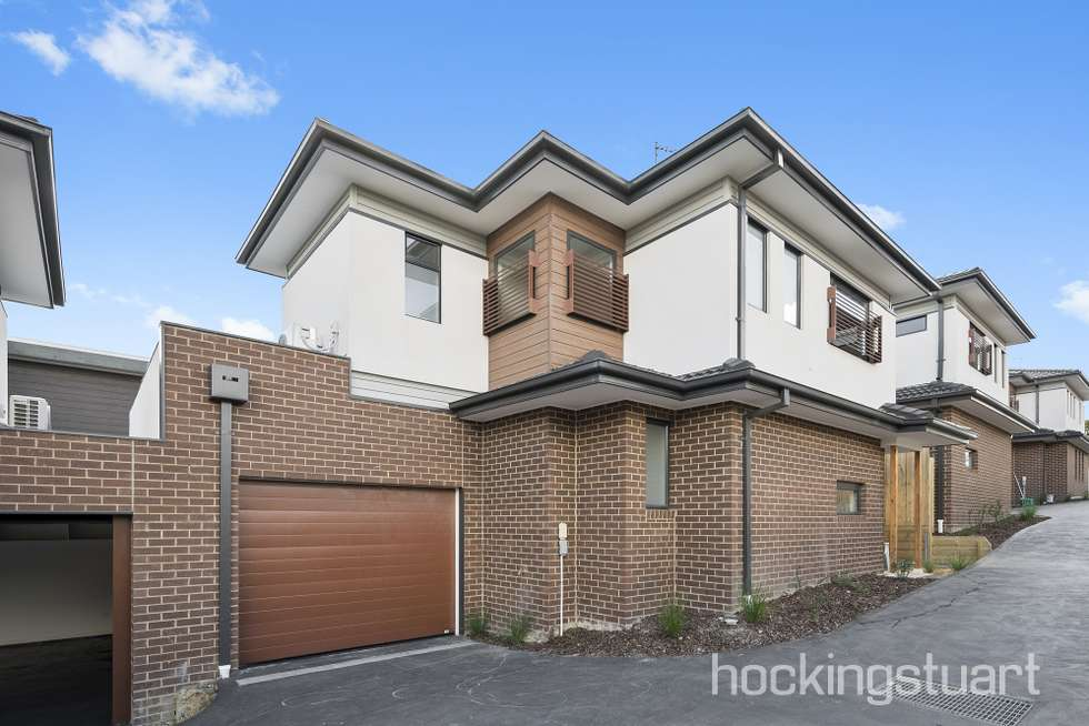 Second view of Homely townhouse listing, 1,2,3/14 Strettle Street, Thornbury VIC 3071