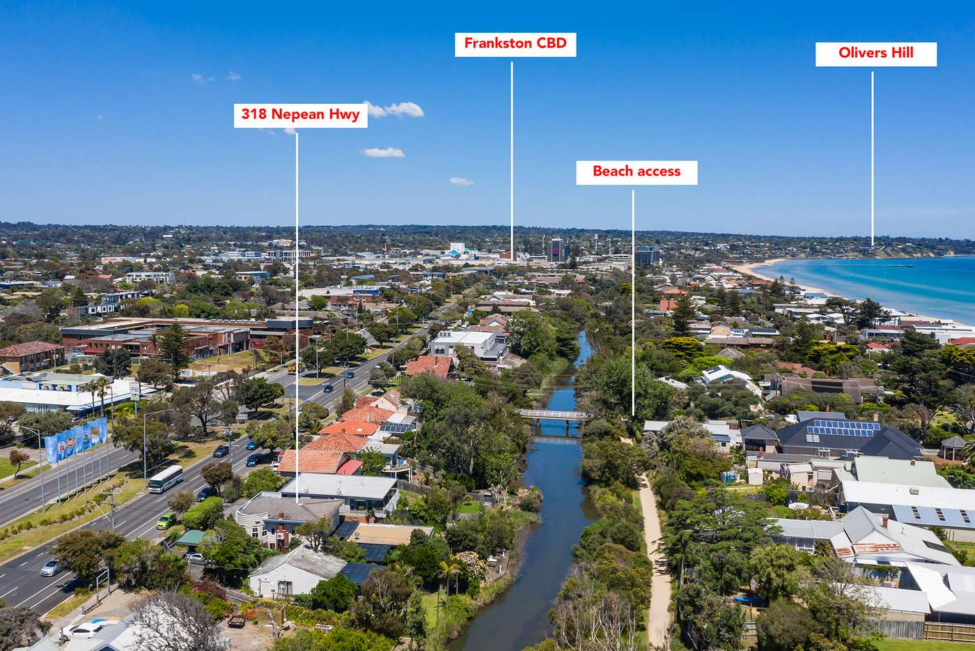 Main view of Homely house listing, 318 Nepean Highway, Frankston VIC 3199
