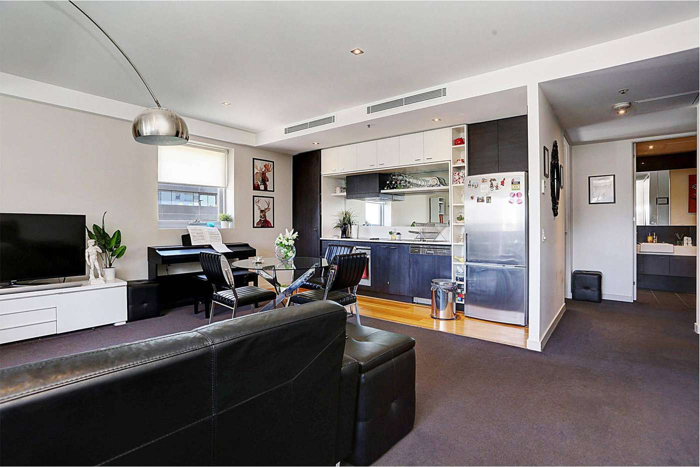 Main view of Homely apartment listing, 1007/12 Yarra Street, South Yarra VIC 3141