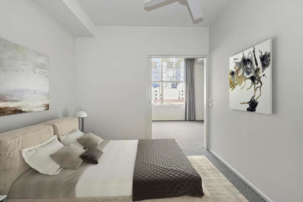 Second view of Homely apartment listing, 802/115 Swanston Street, Melbourne VIC 3000