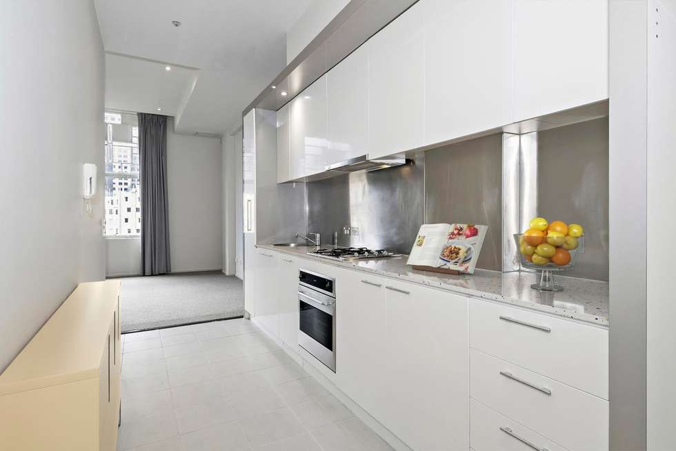 Third view of Homely apartment listing, 802/115 Swanston Street, Melbourne VIC 3000
