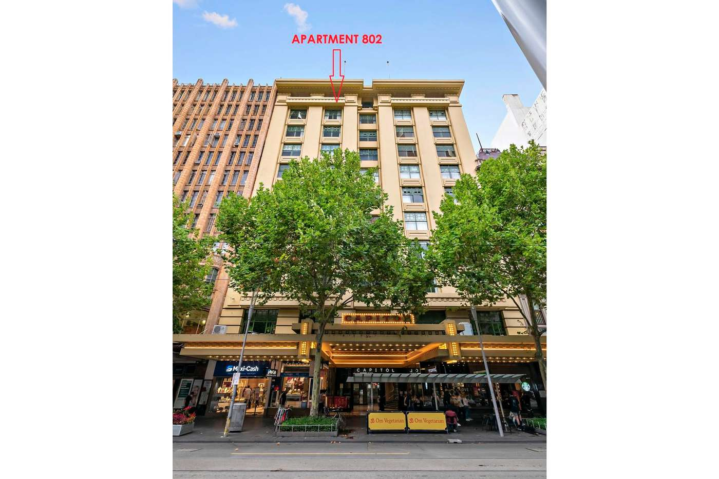 Sixth view of Homely apartment listing, 802/115 Swanston Street, Melbourne VIC 3000