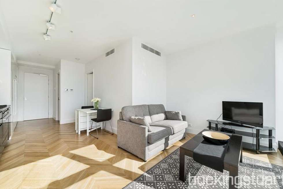 Second view of Homely apartment listing, 2602/27 Little Collins Street, Melbourne VIC 3000
