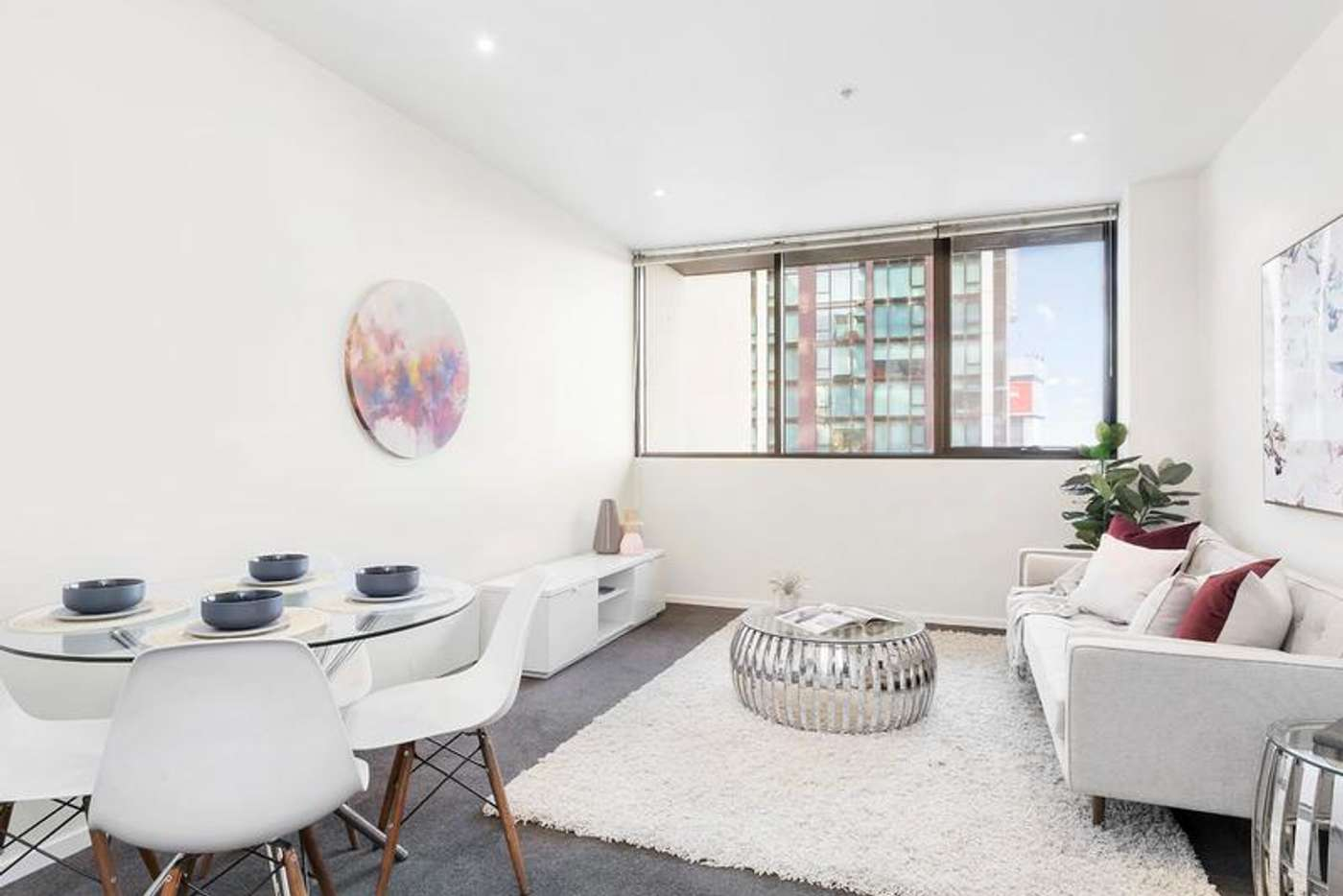 Main view of Homely apartment listing, 1107/28 Wills Street, Melbourne VIC 3000