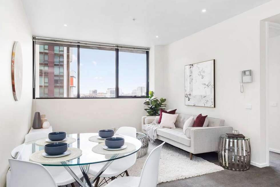 Second view of Homely apartment listing, 1107/28 Wills Street, Melbourne VIC 3000