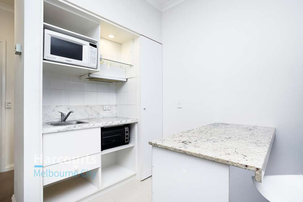 Second view of Homely studio listing, 1105B/1 William Street, Melbourne VIC 3000