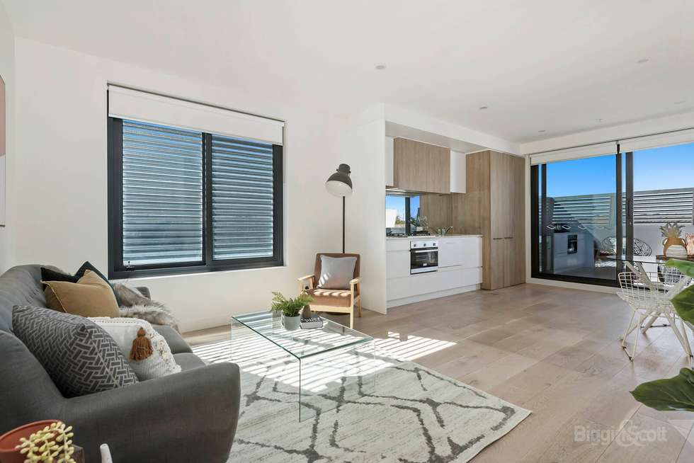 Second view of Homely apartment listing, 201/160 Hotham Street, St Kilda East VIC 3183