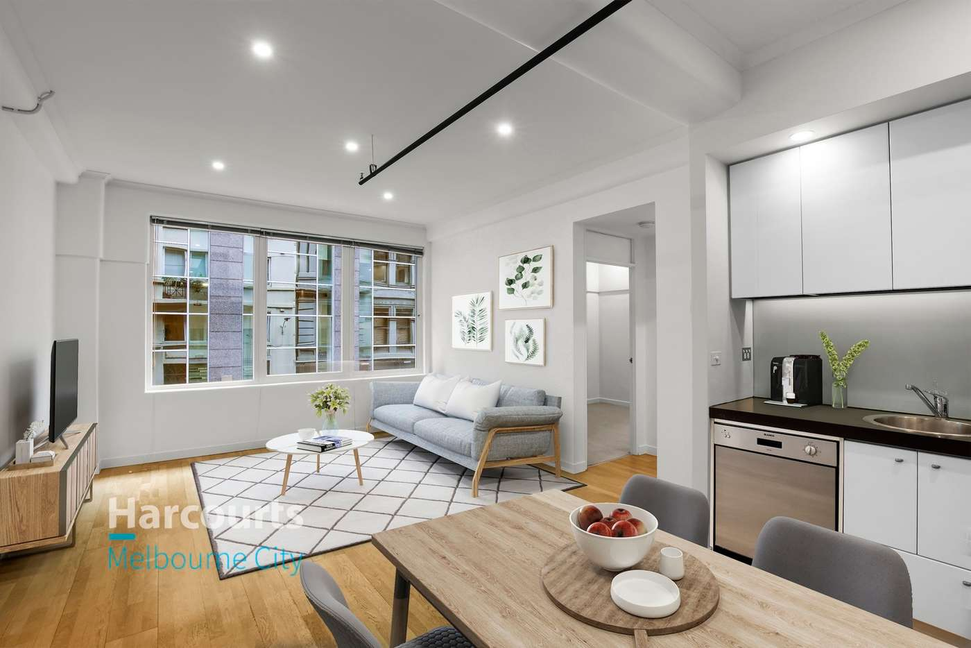 Main view of Homely apartment listing, 314/422 Collins Street, Melbourne VIC 3000
