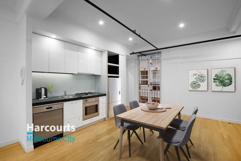 Third view of Homely apartment listing, 314/422 Collins Street, Melbourne VIC 3000